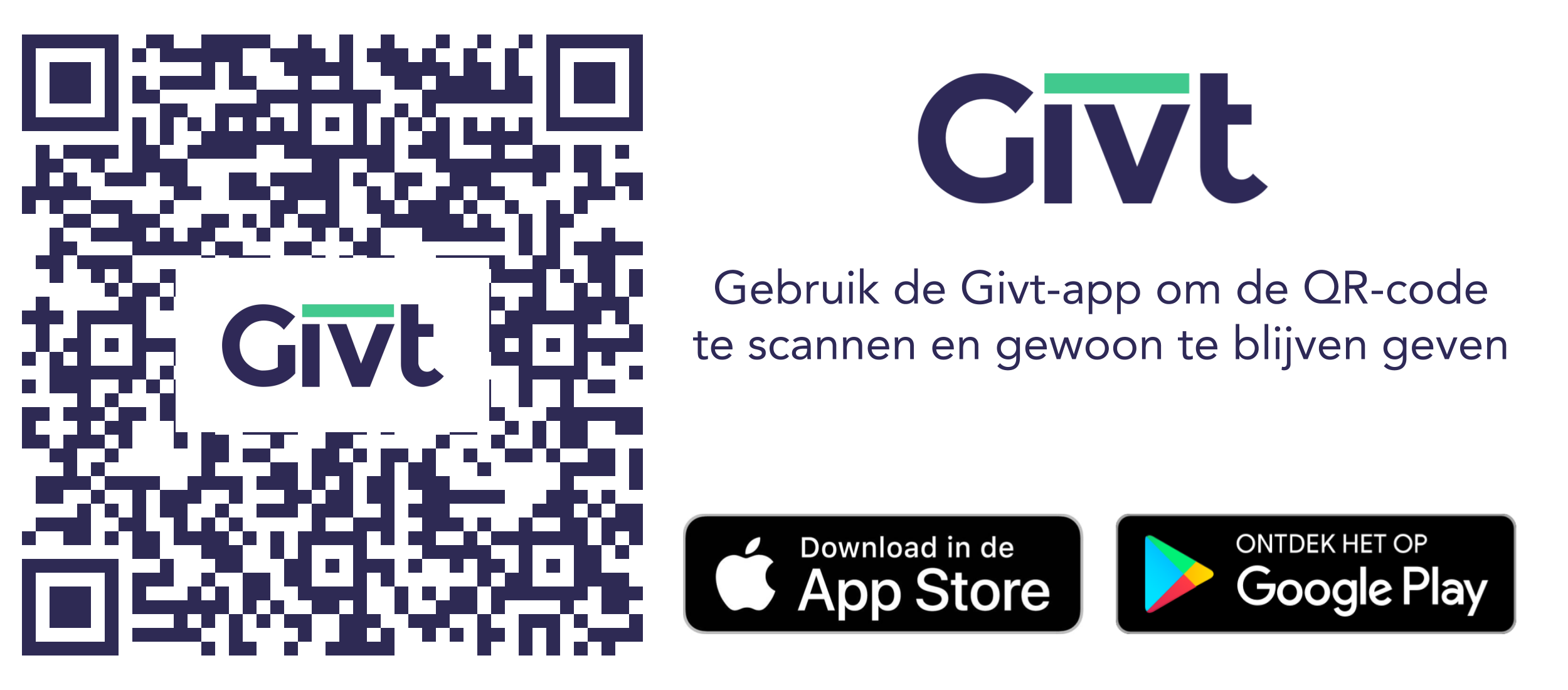 Betalen via de GIVT-app