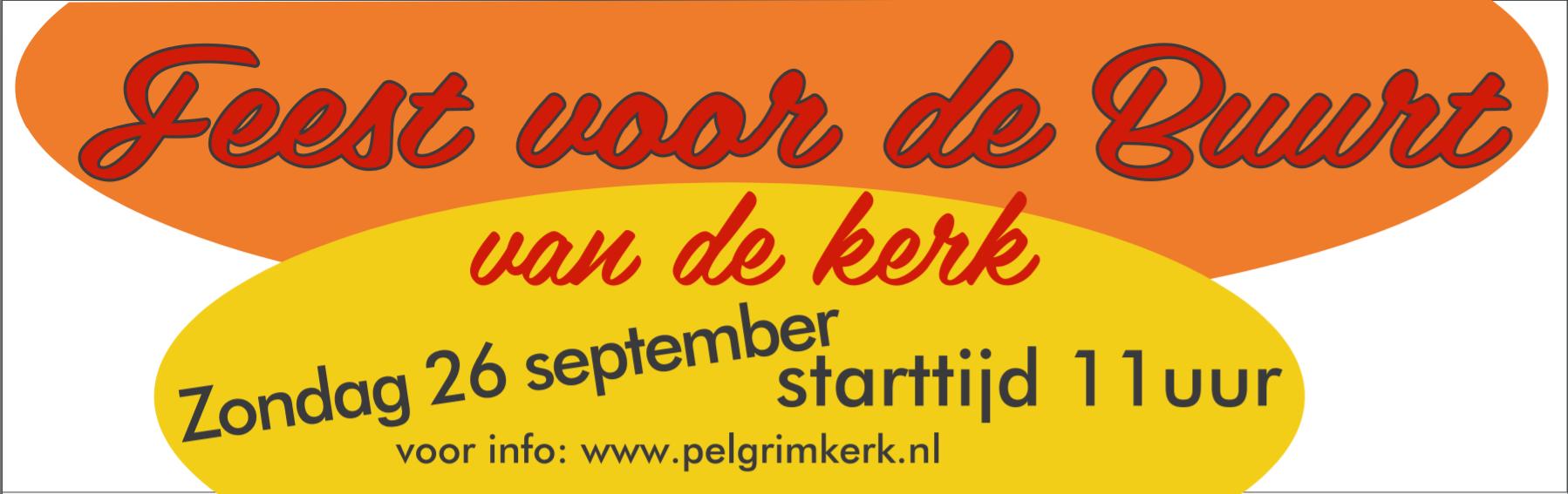 Feest voor de buurt 26 september