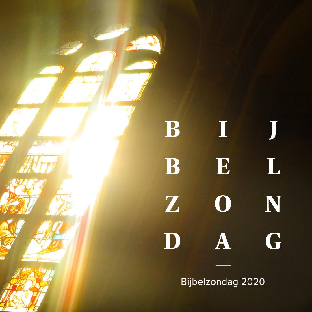 Bijbelzondag 25 oktober