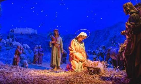 Kerststallen speurtocht in de wijk 21-27 december