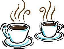 Koffiedrinken!